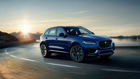 Picking up the Pace: 2017 Jaguar F Pace SUV