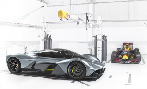 Pull over LaFerrari, the 2017 Aston Martin AM-RB 001 is passing!