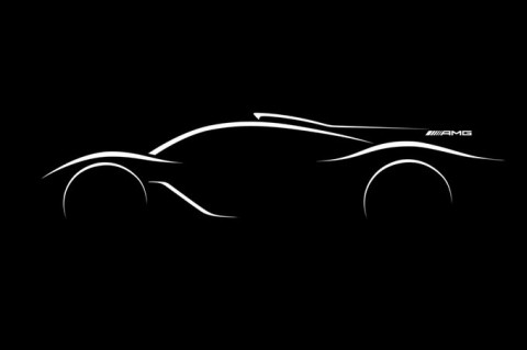Mercedes-AMG announces the R50 hypercar.