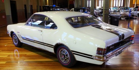Making history: 1969 Holden HT Monaro GTS350 coupe wins 'Best of Show'