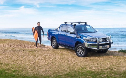 Australia's most popular car, 2016: Toyota Hilux