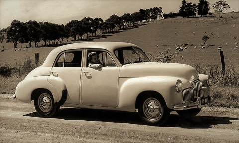 The 1948 FX Holden: Australia's first True-Blue Car
