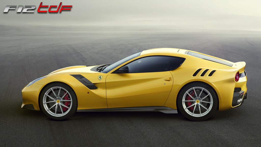 Ferrari can do no wrong - the new F12 TDF