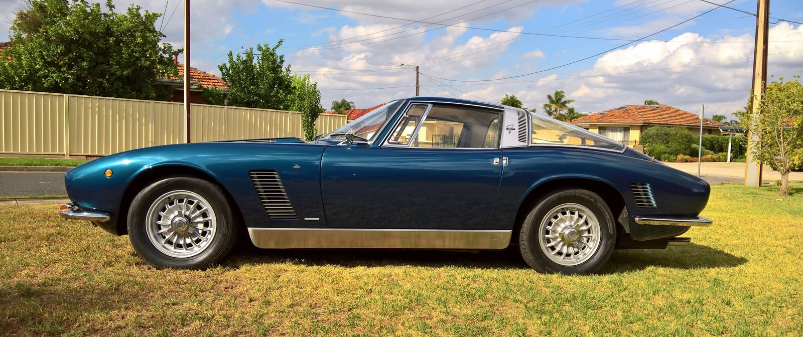 1970 Iso Grifo: Italian Supercar with American Muscle