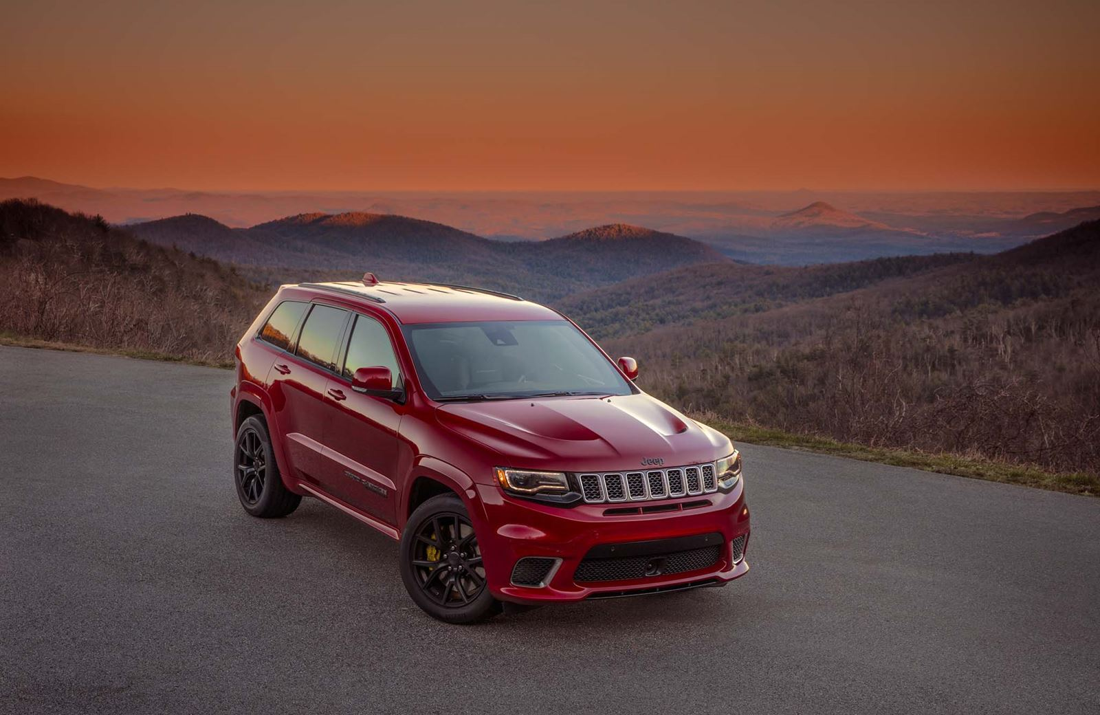 2018 Jeep Grand Cherokee Trackhawk: The school run will never be the same again