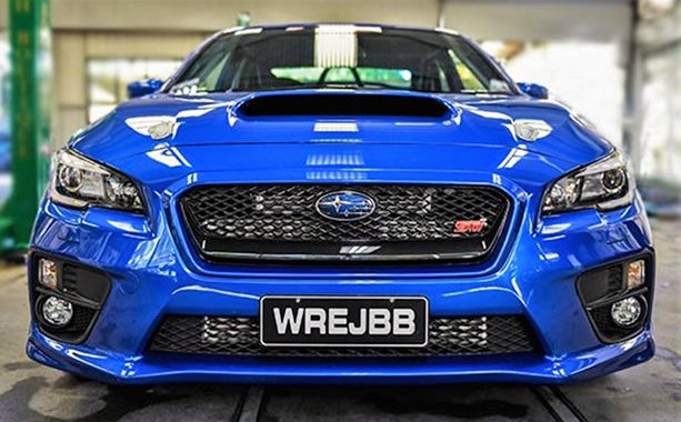 Adelaide proud: Willall Racing's insane 1000hp wide-body WRX takes on the world.