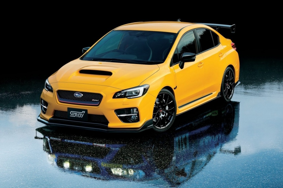 Crying in my breakfast, no special edition WRX STI S207 for Aus!