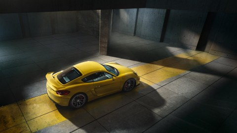 The Porsche Cayman GT4 makes my heart race
